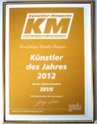 Kuenstler Magazin Auszeichnung